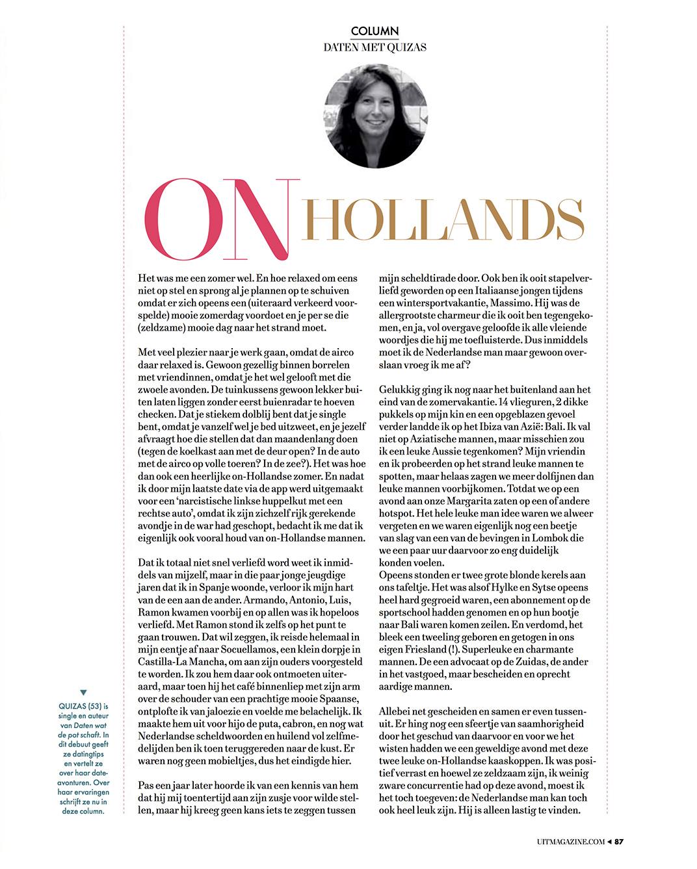 column On Hollands