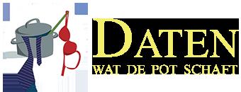 Daten wat de pot schaft Logo