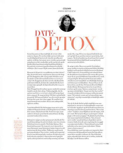 UIT Magazine nr 36, zomer 2017 - Date Detox