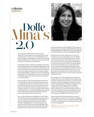 UIT Magazine - Dolle Mina's 2.0