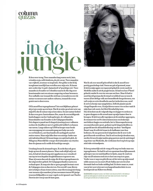 UIT Magazine nr 44, zomer 2019 - In de jungle